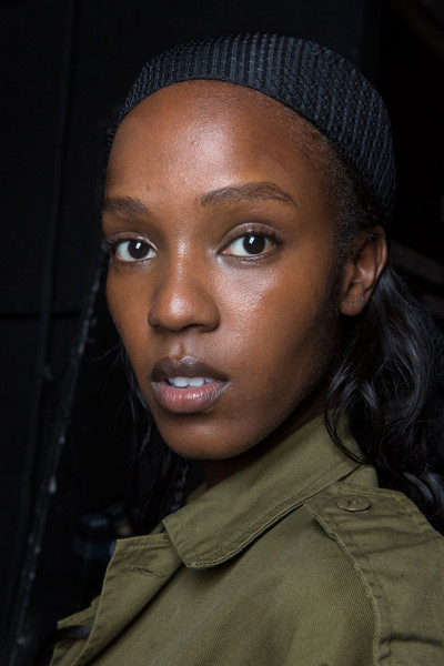 Sally LaPointe at New York Spring 2017 (Backstage)