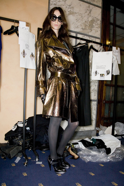 Salvatore Ferragamo at Milan Fall 2008 (Backstage)