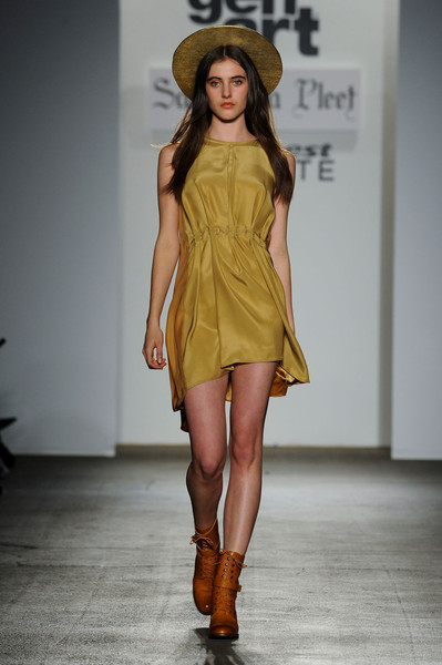 Samantha Pleet at New York Fall 2012