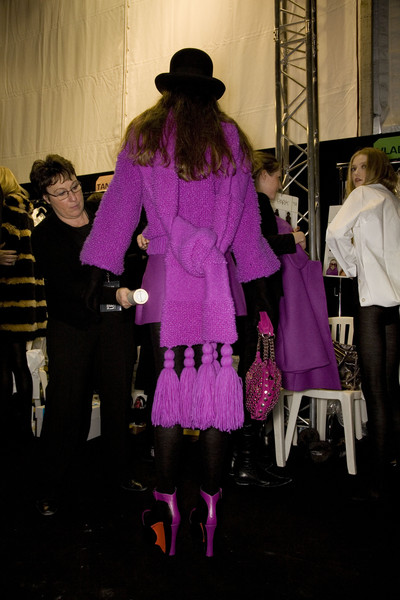 Sonia Rykiel at Paris Fall 2008 (Backstage)