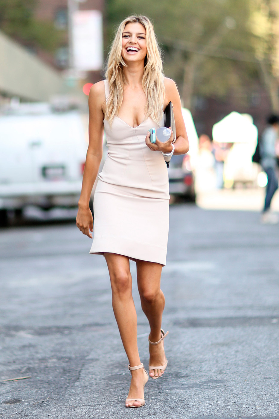In The Nude Best Street Style From New York Fashion Week Spring 2015 Livingly