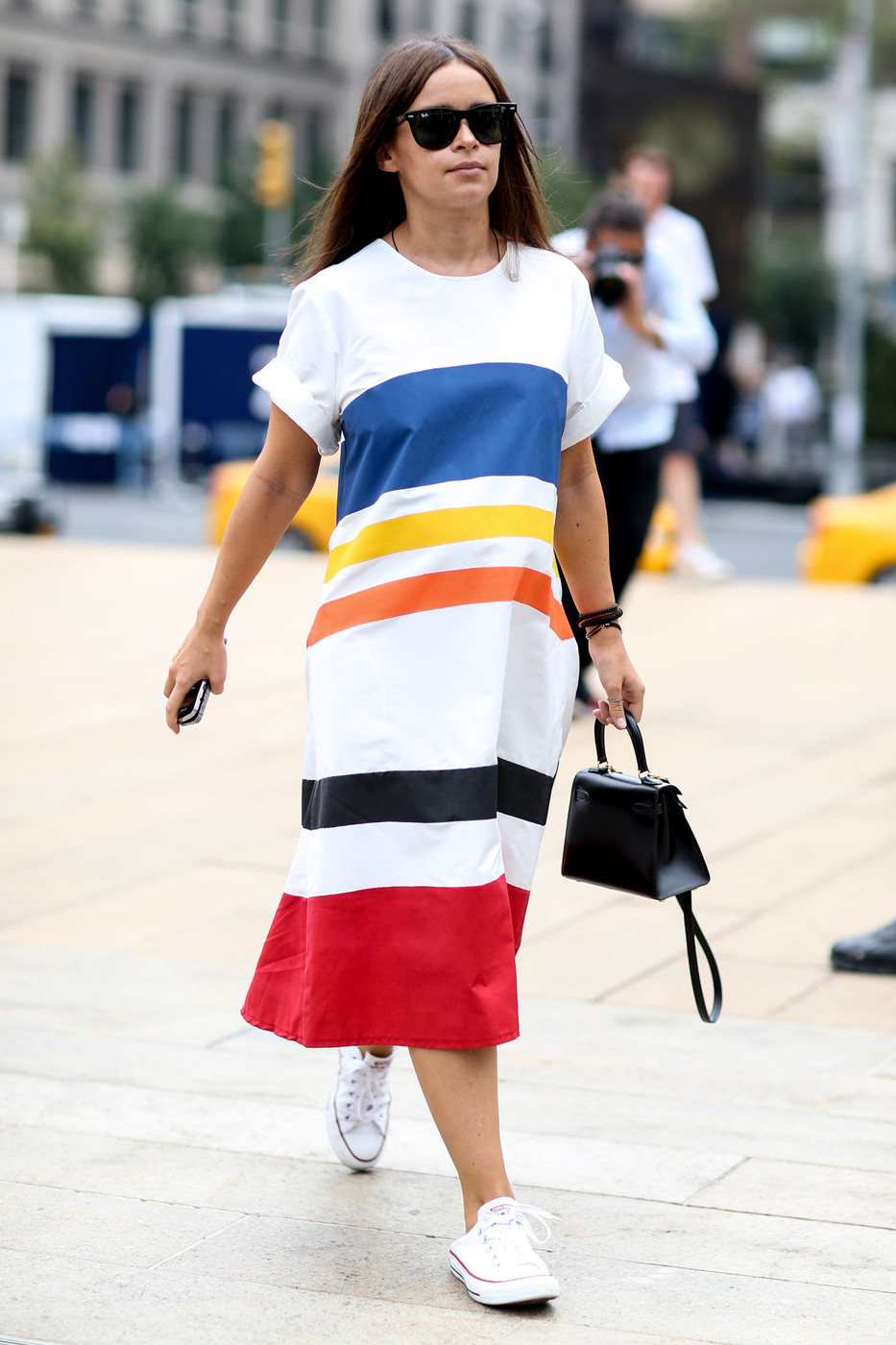 Stripes Best Street Style From New York Fashion Week Spring 2015 Livingly