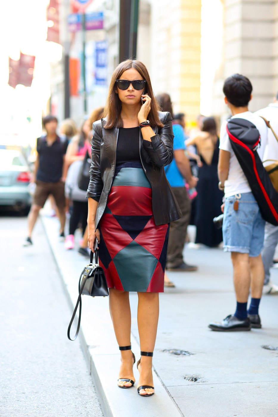 Maternity Leather