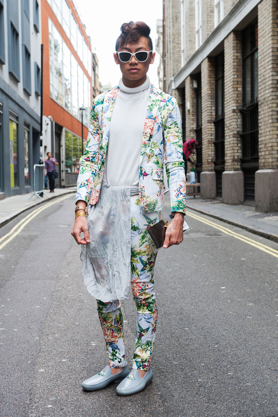 London Fashion Week Spring 2016 Attendees Pictures Livingly