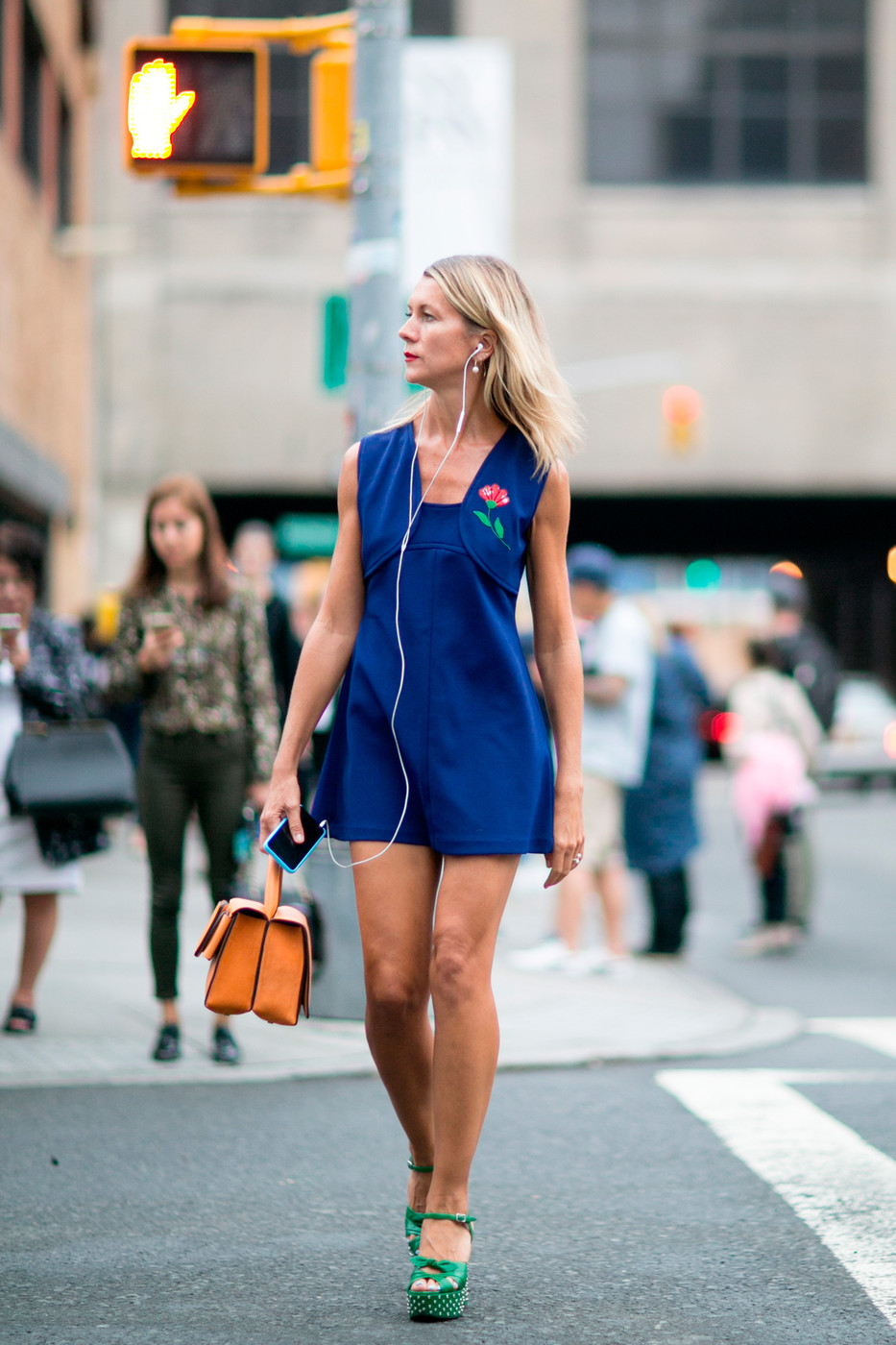 Mod Mini Platforms The Best Street Style At New York