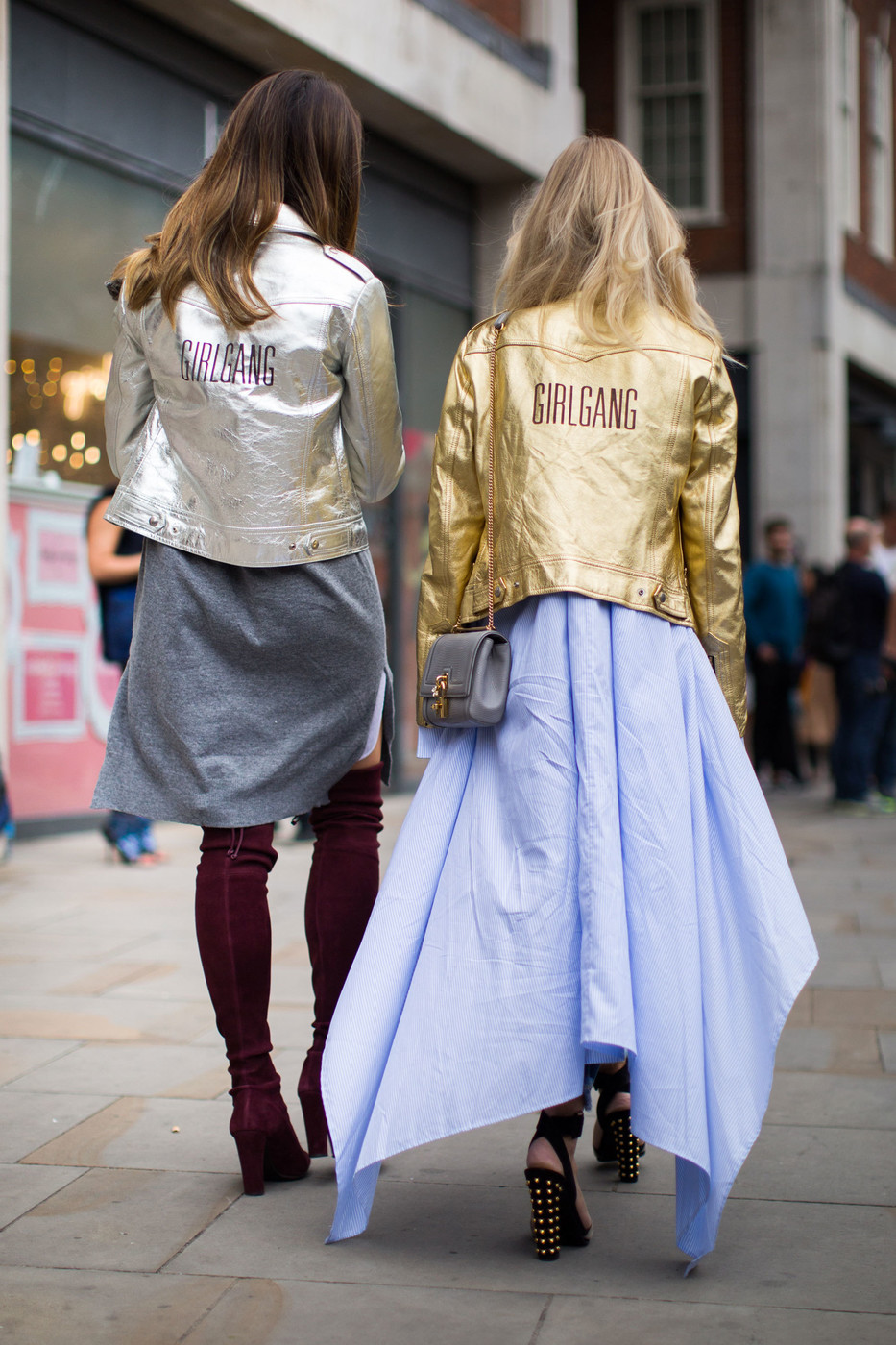 Girl Gang The Best Street Style At London Fashion Week Spring 2017 Livingly