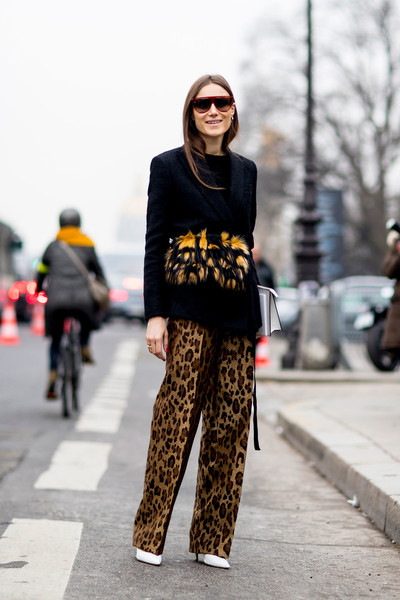 Sleek Print Pants