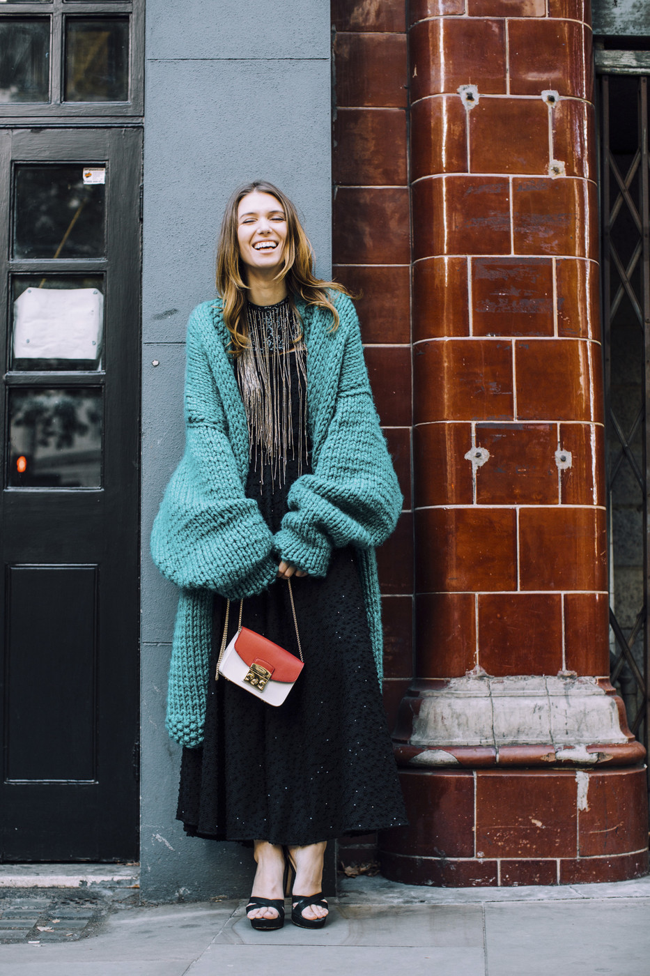 Oversized Sweater The Most Inspiring Street Style At London Fashion Week Livingly