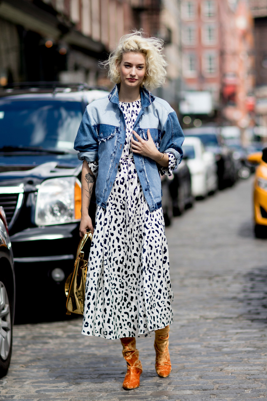Leopard And Denim 60 Creative Outfit Ideas From New York Fashion Week Livingly