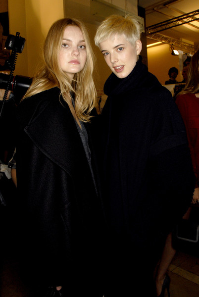 Stella McCartney at Paris Fall 2007 (Backstage)