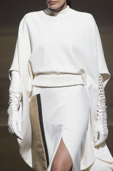 Stéphane Rolland at Couture Fall 2018 (Details) [white,fashion,clothing,fashion model,runway,fashion show,fashion design,human,haute couture,model,stephane rolland,couture fall,fashion,runway,haute couture,model,jacket,white,clothing,fashion show,runway,fashion show,fashion,19th century,haute couture,model,jacket]