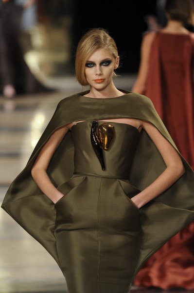 Stéphane Rolland at Couture Spring 2011 [fashion model,fashion,fashion show,runway,clothing,haute couture,beauty,shoulder,dress,model,socialite,supermodel,stephane rolland,fashion,haute couture,runway,model,fashion model,couture spring 2011,fashion show,runway,fashion show,model,supermodel,fashion,haute couture,socialite,beauty.m]