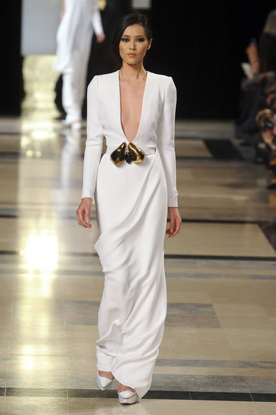 Stéphane Rolland at Couture Spring 2011 [fashion model,fashion,white,fashion show,runway,clothing,shoulder,dress,haute couture,neck,dress,stephane rolland,haute couture,fashion,runway,wedding dress,model,spring,couture spring 2011,fashion show,haute couture,fashion show,fashion,wedding dress,fashion design,runway,model,supermodel,spring,dress]
