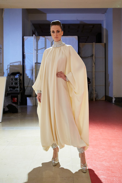 Stéphane Rolland at Couture Spring 2020 (Backstage) [fashion,clothing,fashion show,outerwear,fashion design,haute couture,costume,robe,fashion model,formal wear,dress,gown,stephane rolland,socialite,fashion,haute couture,model,spring,couture spring 2020,fashion show,fashion show,haute couture,fashion,fashion week,runway,model,dress,gown,socialite,spring]