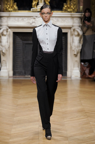 Talbot Runhof at Paris Fall 2011