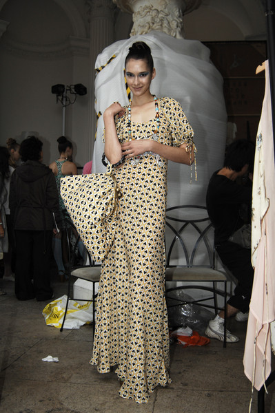 Tata-Naka at London Spring 2007 (Backstage)