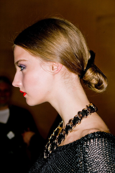 Temperley London at London Fall 2011 (Backstage)