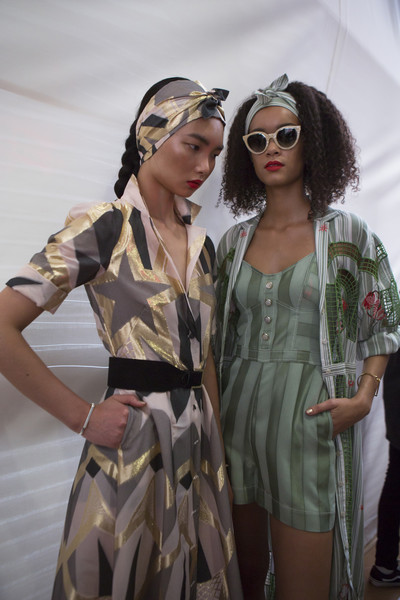 Temperley London at London Spring 2018 (Backstage)
