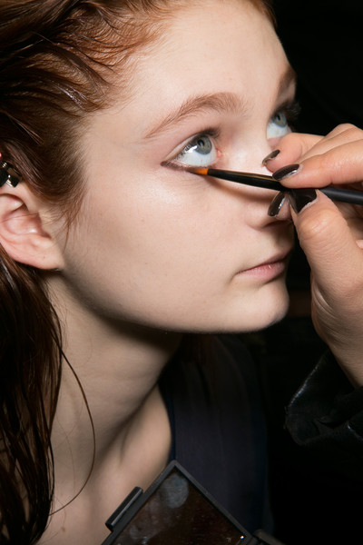 Thakoon Bks Bis at New York Fall 2014 (Backstage)