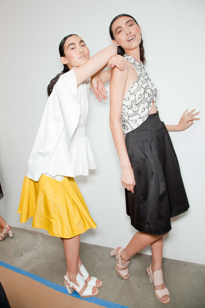 Thakoon at New York Spring 2013 (Backstage)