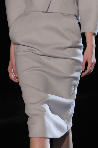 Thierry Mugler at Paris Fall 2013 (Details)