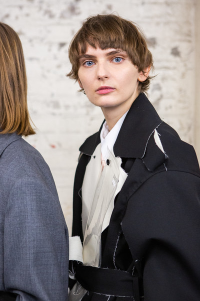 Toga at London Fall 2020 (Backstage)