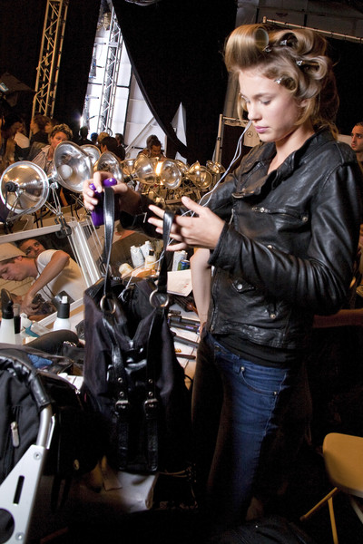 Tommy Hilfiger at New York Spring 2010 (Backstage)