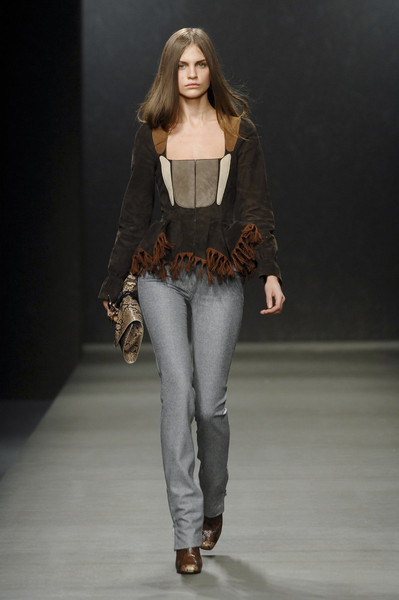 Trussardi 1911 at Milan Fall 2008