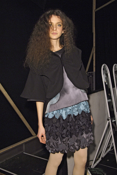 Tsumori Chisato at Paris Fall 2008 (Backstage)