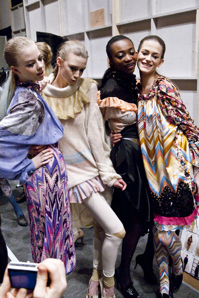 Tsumori Chisato at Paris Fall 2009 (Backstage)