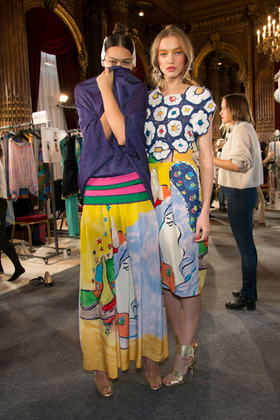 Tsumori Chisato at Paris Spring 2013 (Backstage)