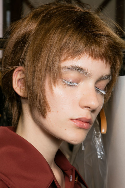 Ulyana Sergeenko at Couture Fall 2016 (Backstage)