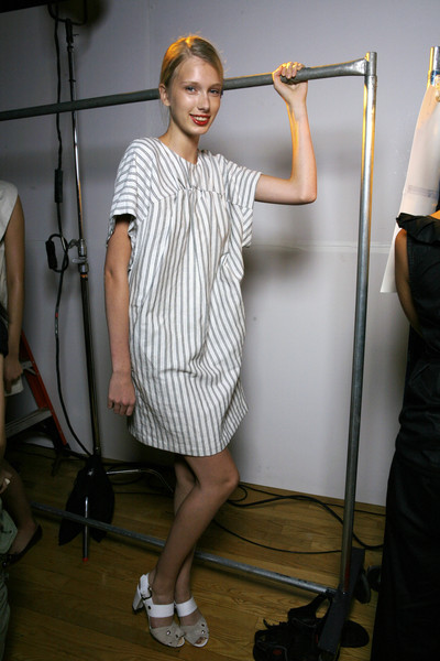 United Bamboo at New York Spring 2009 (Backstage)