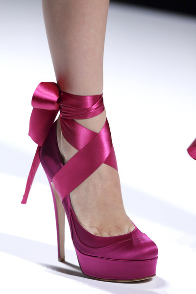 Valentin Yudashkin at Paris Spring 2011 (Details) [footwear,high heels,shoe,pink,magenta,leg,purple,sandal,fashion,ankle,shoe,shoe,court shoe,valentin yudashkin,fashion,stiletto heel,boot,pump,sandal,paris fashion week,shoe,high-heeled shoe,stiletto heel,sandal,shoesme,boot,fashion,court shoe,pump,kitten heel]