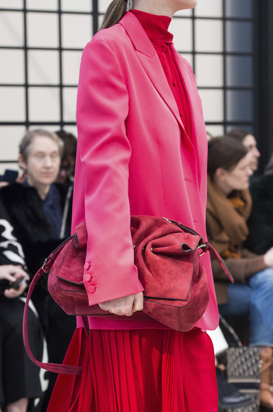 Valentino at Paris Fall 2018 (Details) [fashion,red,pink,clothing,street fashion,outerwear,haute couture,human,dress,magenta,socialite,haute couture,fashion,fashion week,street fashion,runway,model,brand,paris fashion week,fashion show,haute couture,fashion week,fashion,fashion show,runway,paris,model,socialite,booneville/baldwyn airport,brand]