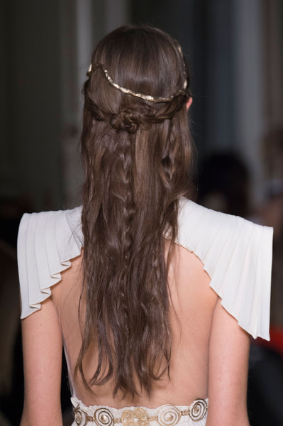 Valentino at Couture Spring 2016 (Details) [hair,hairstyle,headpiece,hair accessory,long hair,bridal accessory,fashion accessory,brown hair,headgear,back,valentino,socialite,hair,hair,brown hair,headpiece,hairstyle,bun,haute couture,couture spring 2016,long hair,bun,hair m,headpiece,bangs,chignon,brown hair,socialite,hair,haute couture]