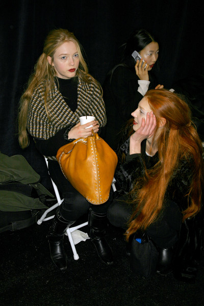 Vera Wang at New York Fall 2007 (Backstage)
