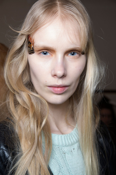 Veronique Branquinho at Paris Fall 2015 (Backstage)