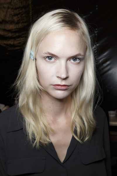 Veronique Branquinho at Paris Spring 2015 (Backstage)