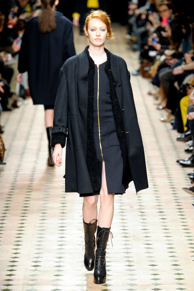 Véronique Leroy at Paris Fall 2012