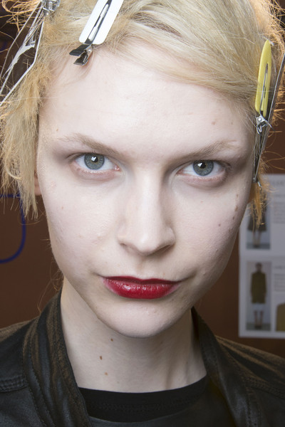 Véronique Leroy at Paris Fall 2013 (Backstage)