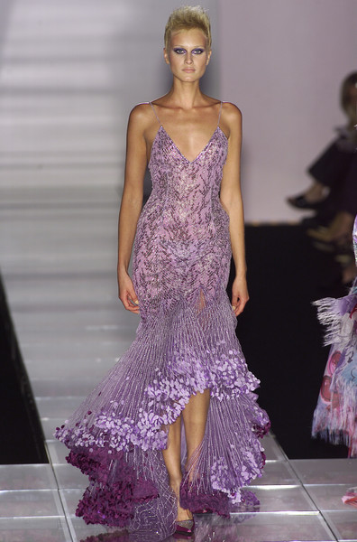 Versace Couture Fall 2001