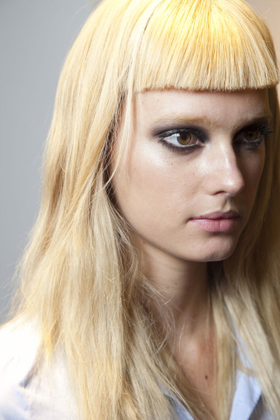 Versace at Milan Fall 2012 (Backstage)