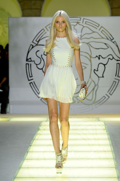 Versace at Milan Spring 2012