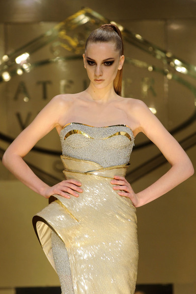 Versace at Couture Spring 2012