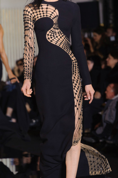Versace Couture Details, Spring 2015