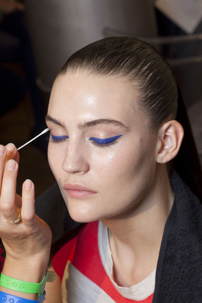 Versus at Milan Spring 2013 (Backstage)