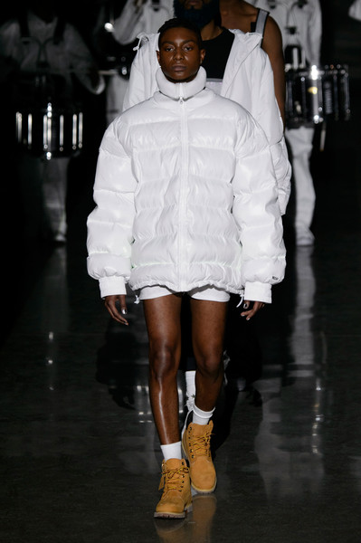 Vfiles at New York Fall 2016 [white,fashion,fashion model,runway,fashion show,fashion design,joint,shoulder,footwear,outerwear,actor,fashion,pasties,runway,crotch,vfiles,selfie,fashion design,new york fashion week,fashion show,pasties,selfie,go fug yourself,iheartradio,mtv video music award,runway,nipple,actor,fashion,crotch]