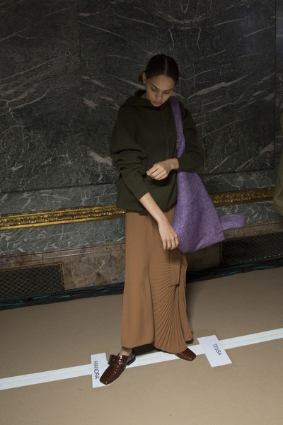 Victoria Beckham at New York Fall 2018 (Backstage)