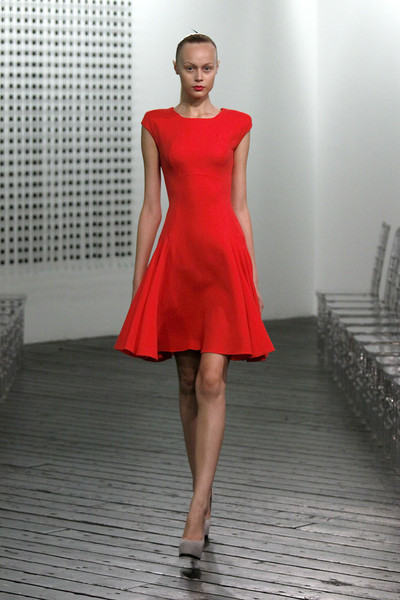 Victoria Beckham Press Office at New York Spring 2010